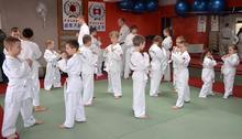 Trening grupy Ashihara Karate