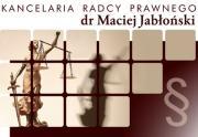 Kancelaria Radcy Prawnego dr Maciej Jabłoński
